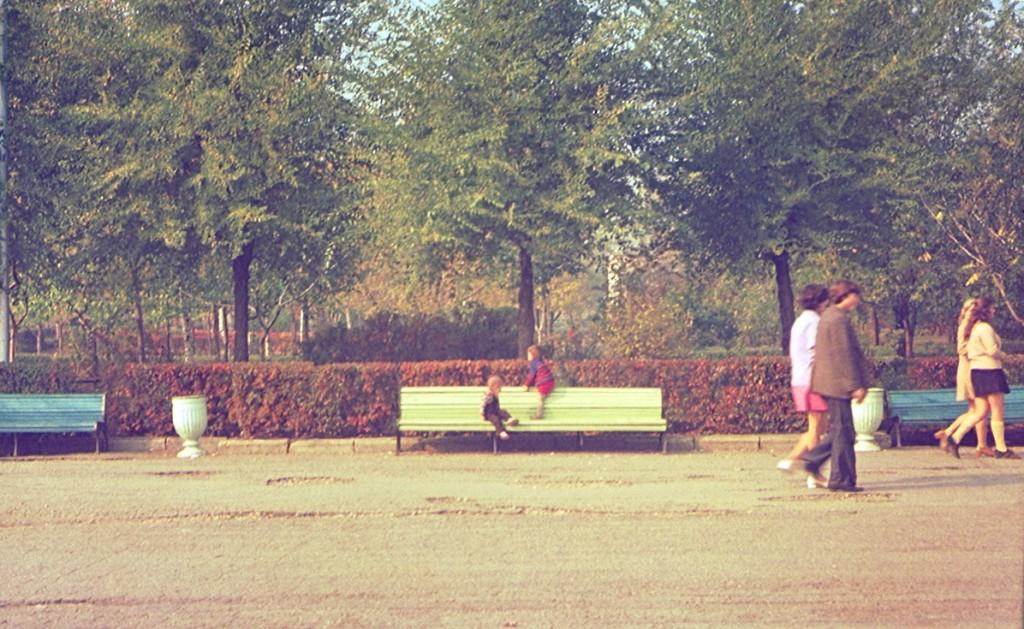 парк Дружбы 41 год назад