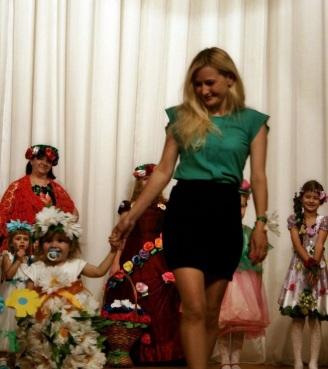 Праздник цветов в ДК Искра