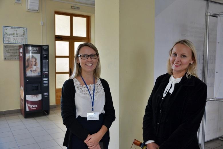 Альянс Франсез - Юлия Гареева (слева), Росбанк