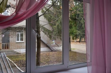 за окном уже приготовлена кормушка для птиц