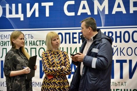 на важных мероприятиях присутствуют топы компании (Елена Вернигор, Екатерина Михайловская, Евгений Мараховский)