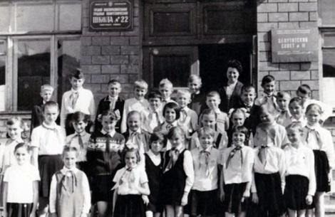 школа 22, конец 1960-х
