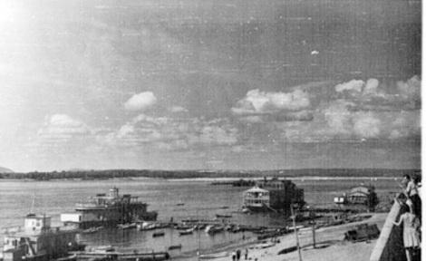 новая набережная 1963 год пляж между пристанями