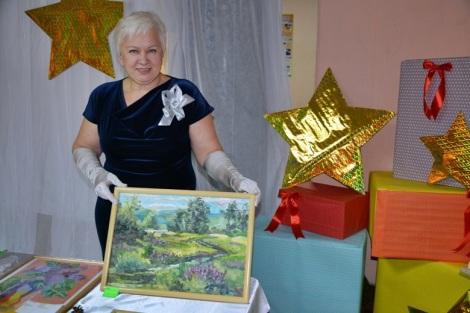 Ольга Щанникова представляла Ярмарку