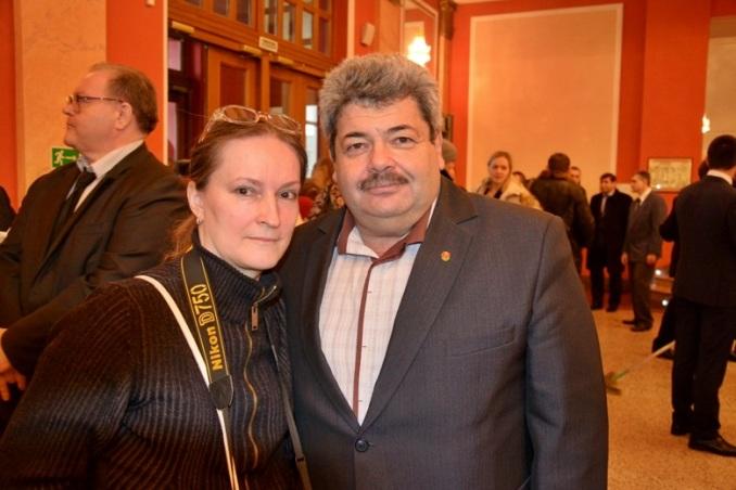 Нина Дюкова и Михаил Фаерман