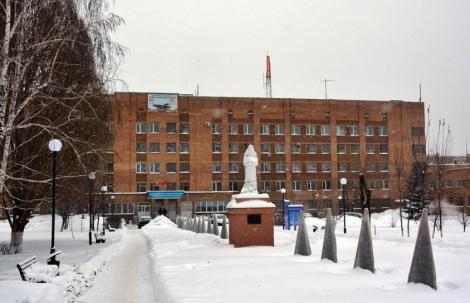 аллея славы медиков зимой