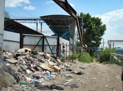 откуда приносят мусор - загадка, но его несут