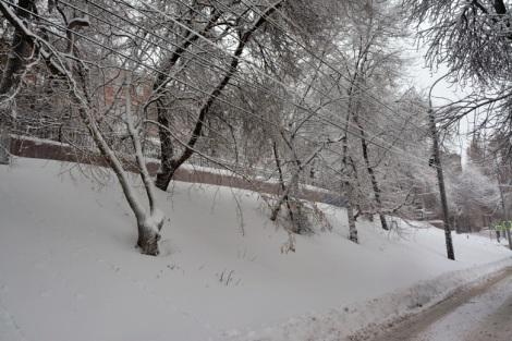 ул. Степана Разина, люблю когда снег скрывает грязь и серость