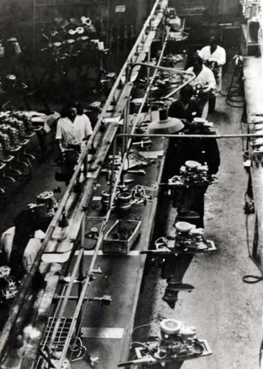 линия лодочных моторов