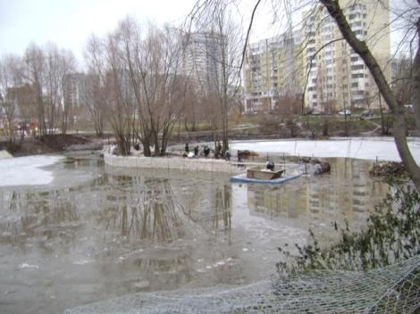 ненормальные муниципалы чистили озеро, которое все равно грохнут застройщики