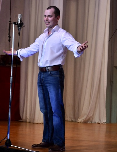 стихи Евгения Стипана произвели большое впечатление