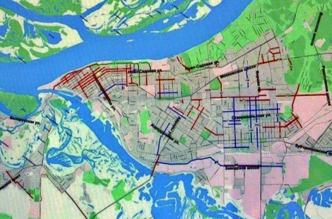 изучайте карты города, где пройдет ремонт