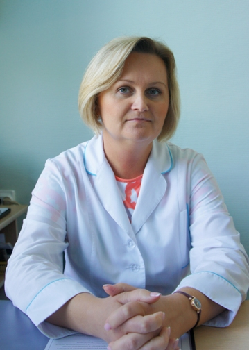 Главная медицинская сестра СГП №13 Наталья Шатохина
