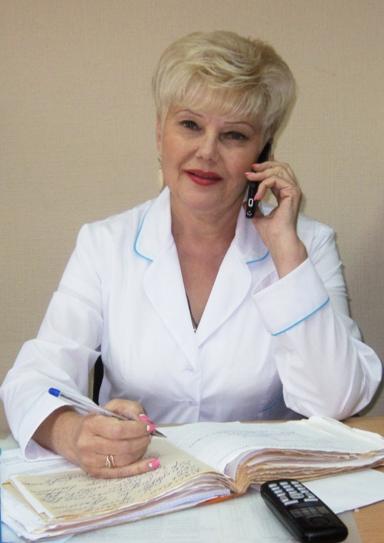 Зав. детского поликлиничекого отделения №2 Наталья Хасянзянова