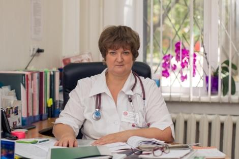 Заведующая детским поликлиническим отделением № 1 СГП №13 Людмила Камышева