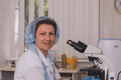 Фельдшер-лаборант детского поликлинического отделения № 2 СГП №13 Анна Мелешина