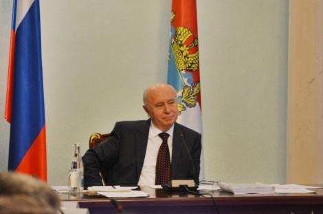 губернатору нравится вести диалог в академическом русле